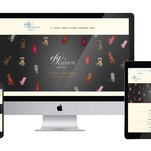 Ideazione e realizzazione layout respnsive e sito aggiornabile dal Cliente